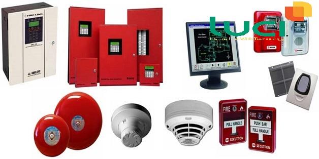 Một số thiết bị trong hệ thống báo cháy