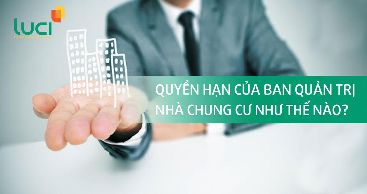 Quyền hạn của ban quản trị nhà chung cư