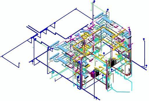 Hệ thống cơ điện M&E có cấu tạo phức tạo