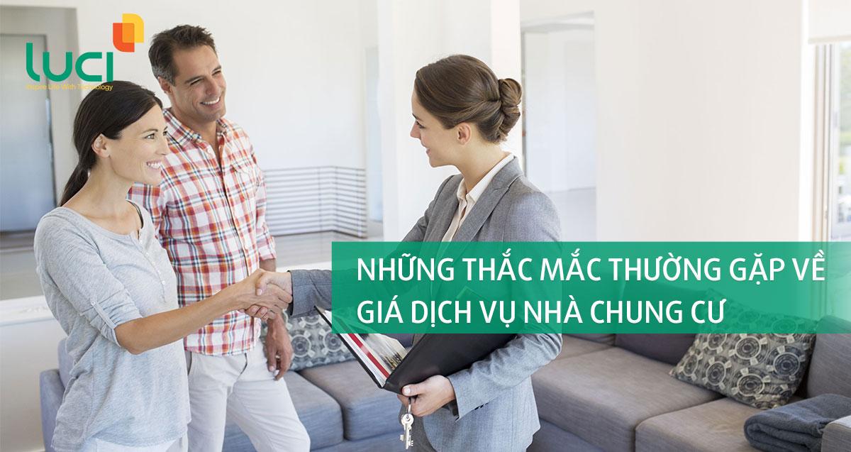 Những thắc mắc thường gặp về giá dịch vụ nhà chung cư