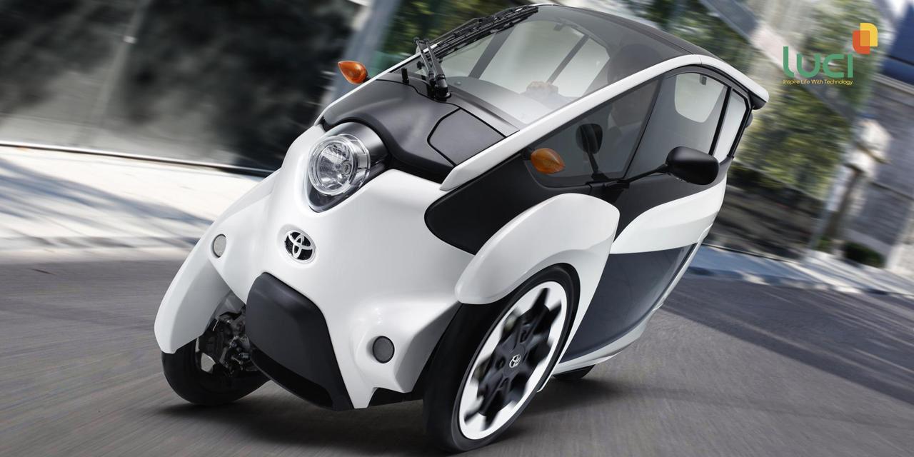 Ô tô thông minh Toyota i-ROAD