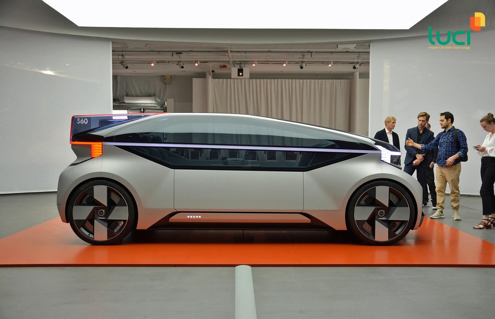 Ô tô thông minh Volvo 360C