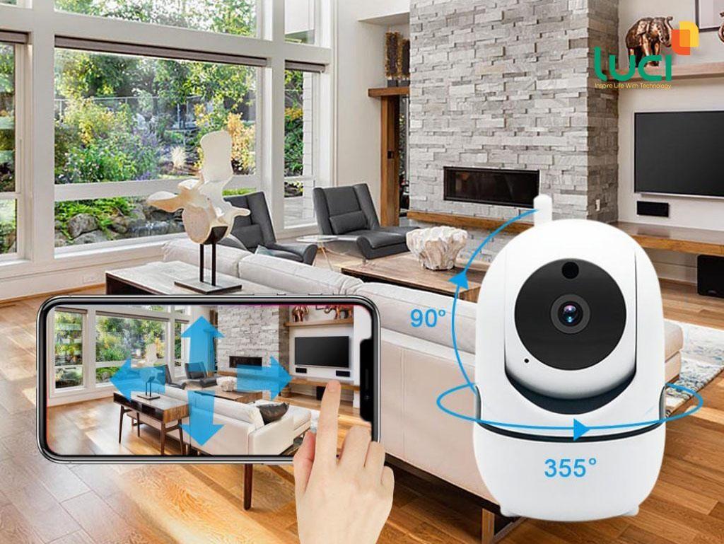 Camera giám sát giúp bảo vệ an toàn cho ngôi nhà