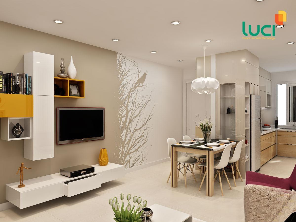 Đèn led là giải pháp chiếu sáng tốt nhất cho căn nhà