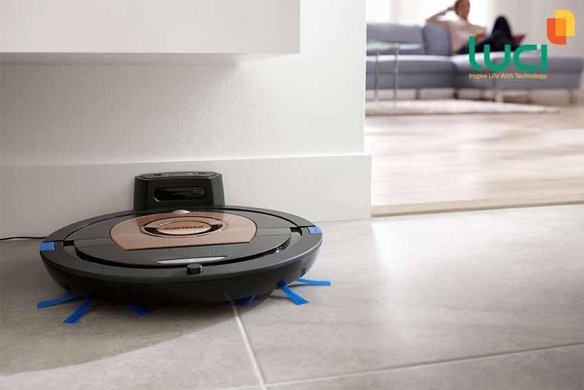 Robot lau nhà thông minh mang lại cuộc sống tiện ích hơn cho con người