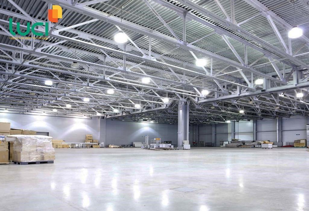 Đèn huỳnh quang siêu sáng chiếu sáng công nghiệp, nhà xưởng