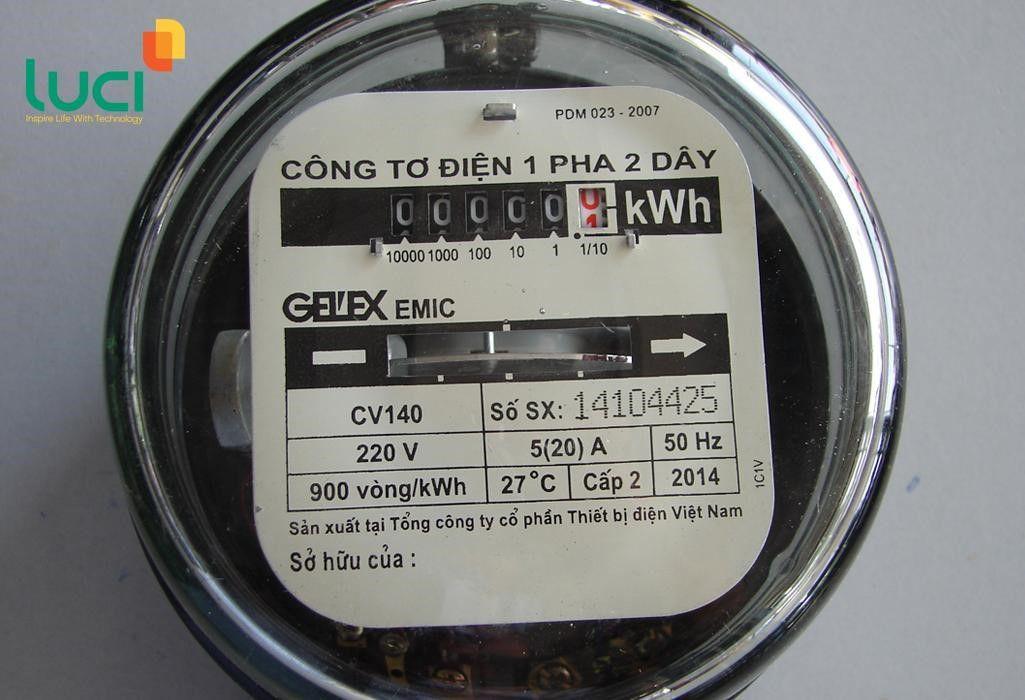 Đồng hồ cơ do điện lực cung cấp